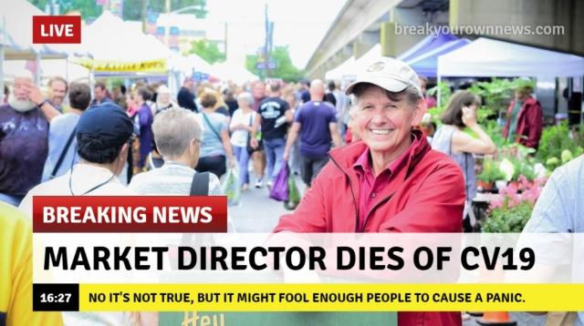 Mkt Director Dies