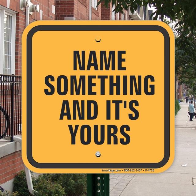 Name Something